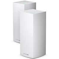 Bộ Phát Wifi LINKSYS VELOP MX8400-AH (2 pack) TRI-BAND AX4200 INTELLIGENT MESH WIFI SYSTEM WIFI 6 MU-MIMO SYSTEM - Hàng Chính Hãng