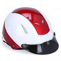 Mũ bảo hiểm 1/2 đầu không kính Protec Disco hai màu DLWF (Size L)