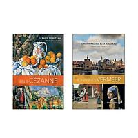 Combo Danh Họa Thế Giới: Paul Cézanne - Con Người Sơ Khai Của Nghệ Thuật Mới + Johannes Vermeer - Thời Kỳ Hoàng Kim Của Hội Họa Hà Lan