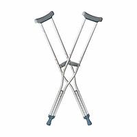 Nạng nách hợp kim nhôm cao cấp LUCASS C25 - Nạng tập đi cho người khuyết tật, người bị tai nạn phục hồi chức năng - 1 Đôi - HÀNG CHÍNH HÃNG