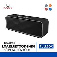 Loa bluetooth không dây PAGINI SC211 – Âm thanh sống động – Có thể kết nối bluetooth, thẻ nhớ USB vô cùng tiện lợi – Hàng nhập khẩu