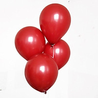 100pcs metallic red Ruby Agate red balloon date red pomegranate balloon party
