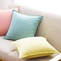 Pure Cotton Cushion Natural environmental Cover Pillow Decorative Throw Pillow For Home Travel