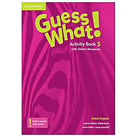 Guess What! Level 5 Activity Book with Online Resources British English