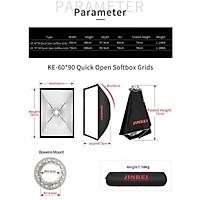 Softbox thao tác nhanh Jinbei KE60x90cm - Hàng chính Hãng