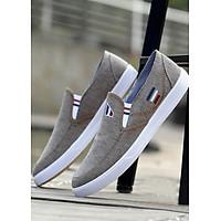 Giày Sneaker Nam Kiểu dáng thoải mái- Màu Nâu Xám - TN12