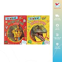 Combo Học mà chơi, chơi mà học 2: Tìm hiểu về Ai Cập cổ đại, Tìm hiểu về khủng long