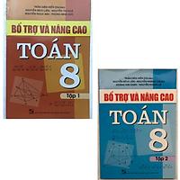 Combo Bổ trợ và nâng cao Toán lớp 8 Tập 1&2