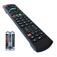Remote Điều Khiển Dùng Cho Internet TV, TV 3D Panasonic BH004 (Kèm Pin AAA Maxell)