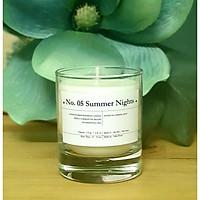 No. 05 Summer Nights - Nến thơm cao cấp bằng sáp ong và tinh dầu hoa nhài, bạc hà