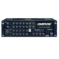 Amply cao cấp OMATON PA 8100S MASTER - Hàng chính hãng
