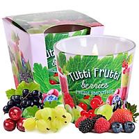 Ly nến thơm tinh dầu Bartek Tutti Frutti 115g QT1667 - trái cây rừng (giao mẫu ngẫu  nhiên)