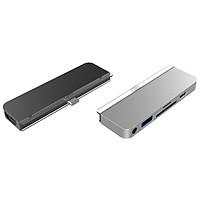 CỔNG CHUYỂN CHUYÊN DỤNG HYPERDRIVE 6 IN 1 HDMI 4K/60HZ USB-C HUB FOR IPAD PRO 2018/2020 & MACBOOK/LAPTOP/SMARTPHONE – HÀNG CHÍNH HÃNG - HD319B