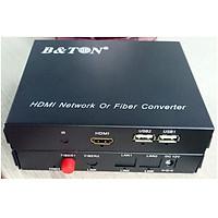 Bộ chuyển đổi HDMI Video sang 1 sợi quang BTON BT-101S-20R-USB- Hàng nhập khẩu