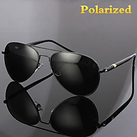 【New Style】Fashion Men's Polarized Sunglasses Resin Police Driving Fishing Sports Camping Glasses