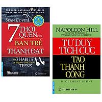 Combo 2 cuốn: 7 Thói Quen Của Bạn Trẻ Thành Đạt + Tư Duy Tích Cực Tạo Thành Công