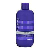 Dầu gội khử ánh vàng cho tóc trắng bạch kim Elgon Silver Colorcare Silver shampoo 300ml
