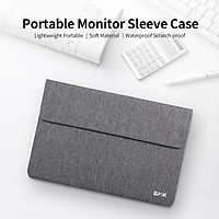 GMK KM2 Portable Monitor Bag Lightweight Waterproof Polyester Portable Monitor Sleeve Case for Portable Monitor Under 14
