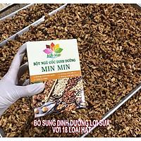 Ngũ Cốc Dinh Dưỡng Min Min  1 KG ( 2 hộp)- Ngũ Cốc Lợi Sữa Mẫu Mới 18 Loại Hạt