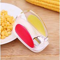 Dụng cụ tách hạt ngô bắp tươi 5 lưỡi dao mini cầm tay giữ nguyên hạt tiện lợi tiết kiệm thời gian