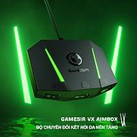 Bộ chuyển đổi GameSir VX AimBox thế hệ mới của bộ chuyển đổi bàn phím chuột có thể đảo ngược USB 2.0 - Hỗ trợ Console PS4/PS5/Xbox One/XboxX/S/Nintendo Switch - 4427 - Hàng nhập khẩu