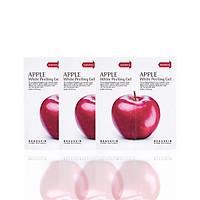 Combo 3 gói tẩy da chết sáng da sạch mụn Apple White Peeling Gel minisize