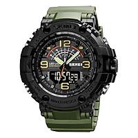 SKMEI Quartz Digital Electronic Men Watch 3 Time Mode Date Week Alarm Clock Backlight 5ATM Waterproof Male Fashion