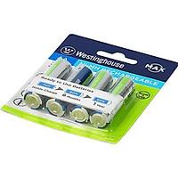 Combo Pin sạc Westinghouse AA 2400mAh (Vĩ 2 viên)/ AA 2400mAh (Vĩ 4 viên) / AAA 1000mAh (Vĩ 2 viên) hàng chất lượng cao