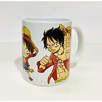 Ly cốc sứ Luffy