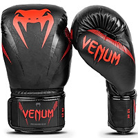 Găng tay boxing Venum Impact - Black/Red