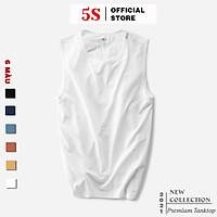 Áo Sát Nách Nam 5S (6 màu) Phom Dáng Thể Thao, Siêu Mát, Thấm Hút Mồ Hôi, Co Giãn Tốt, Vận Động Thoải Mái (ATT21004)
