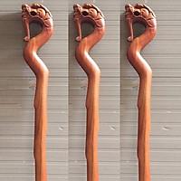 Gậy gỗ batoong  cao 90cm chống cho người già gỗ hương ( một gậy )