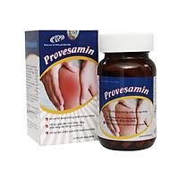 Thực phẩm chức năng viên uống bổ xương khớp, hỗ trợ trị đau nhức xương khớp Provesamin - Glucosamine 1200mg, sụn vi cá mập, canxi, cao ngựa bạch. Lọ 90 viên