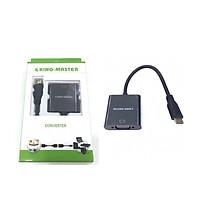 CÁP Mini HDMI K -> VGA L KM (KY-H 122B) - HÀNG CHÍNH HÃNG