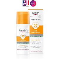 Gel chống nắng cho da dầu mụn Eucerin Sun Dry Touch Acne Oil Control Gel-cream SPF50+ 50ml (Nhập khẩu)
