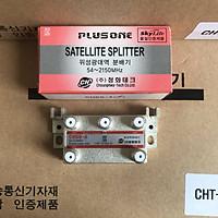 Bộ Chia 4 CHSS [PLUSONE - Hàn Quốc] Chia Chảo, Truyền Hình Cáp, Anten KTS - HÀNG CHÍNH HÃNG