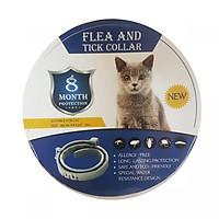 Vòng cổ chống và diệt ve ghẻ chó mèo thảo dược không độc hại