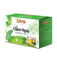 Trà SAVO Chùm Ngây (Moringa Tea) - Hộp 20 Gói x 2g