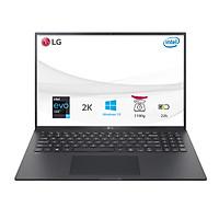 Laptop LG Gram 2021 16Z90P-G.AH75A5 (Core i7-1165G7/16GB /512GB /Intel Iris Xe /16.0 inch WQXGA /Win 10/Đen) - Hàng chính hãng