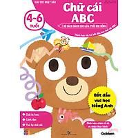 Chữ cái ABC (4~6 tuổi) - Giáo dục Nhật Bản - Bộ sách dành cho lứa tuổi nhi đồng - Thích hợp với trẻ bắt đầu học chữ cái ABC