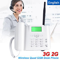 Wireless GSM Desk Phone SIM Card