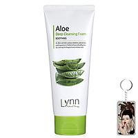 Sữa rửa mặt lô hội Lynn Aloe Deep Cleansing Foam Hàn Quốc 120g