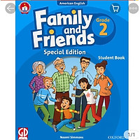 Bộ Family and Friends 2 (Bao kính dán nhãn)
