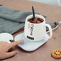 Máy hâm nóng cafe đế hâm nóng đồ ăn đồ uống tiện ích sử dụng được với mọi chất liệu nhiệt độ duy trì 50 độ
