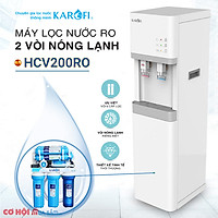 Máy lọc nước tinh khiết (nóng-lạnh) 6 cấp lọc HCV200RO - Karofi chính hãng