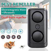 Multi-functional Electromagnetic Wave+ Ultrasonic Pest Repeller