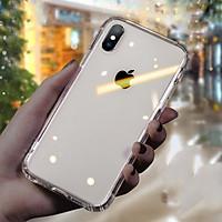 Ốp Hybrid Viền TPU Mặt Kính Cường Lực Leeu Design dành cho iPhone Xs Max _ Hàng Nhập Khẩu