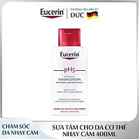Sữa Tắm Cho Da Cơ Thể Nhạy Cảm Eucerin pH5 Skin-Protection Washlotion 400ml