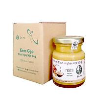 Combo 02 hộp Kem gạo tinh nghệ mật ong Độc Mộc 250g - Dưỡng da trắng mịn, làm mờ thâm nám, tàn nhan