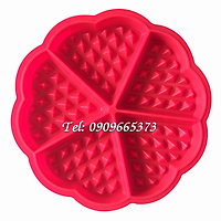 Khuôn silicon làm bánh kẹp, bánh quế – Mã số 1515
